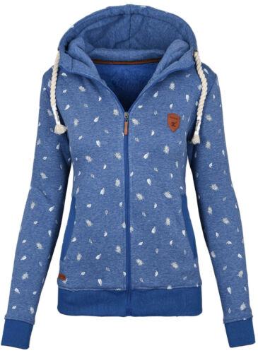 Damen Sweatshirt Hoodie Kapuzen Winter Pullover Pulli Sweater Oberteil B546 NEU