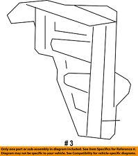 Jeep CHRYSLER OEM Cherokee Rear Bumper-Upper Cover Rear Bracket Right 68257152AA