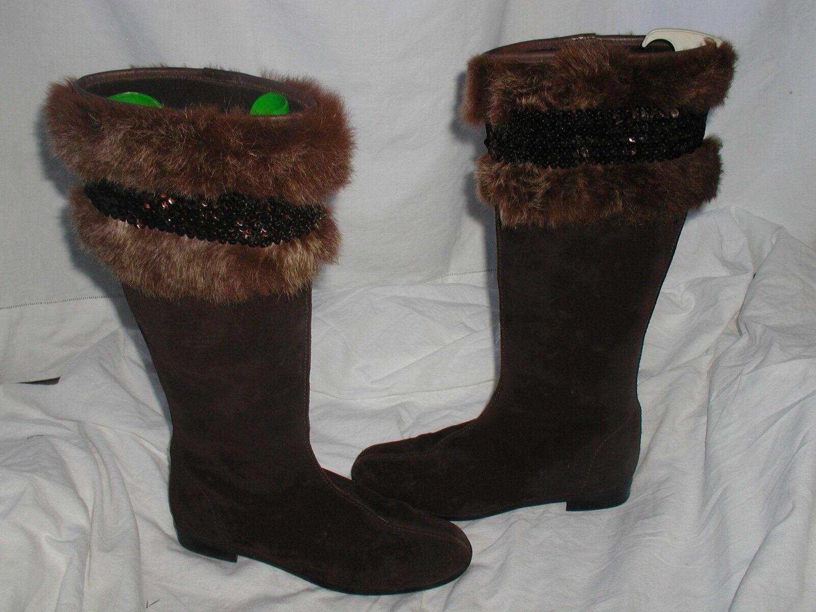 botas botas Jonak Camoscio marrón 38