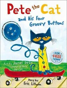 Pete-the-Cat-and-His-Four-Groovy-Buttons-Paperback-by-Litwin-Eric-ISBN-000