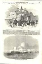 1856 James Kate Portsmouth Liberty Men Returning Naval Review