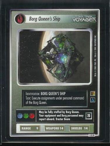 Star Trek CCG 1E The Borg 122R Borg Queen/'s Ship