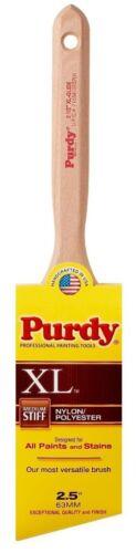 "Purdy 144152325 Medium Stiff Nylon Polyester 2.5/"" XL Glide Paint Brush QTY 2"