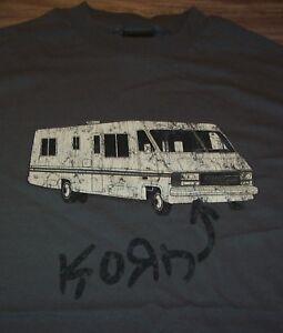 VINTAGE-STYLE-KORN-RV-T-Shirt-2003-MEDIUM-Band-NEW