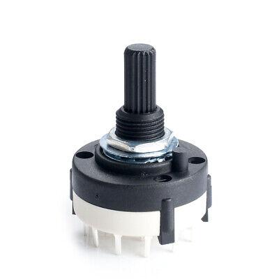 1pcs,4 Pole 3 Position PANEL Custom Wiring ROTARY SWITCH ...