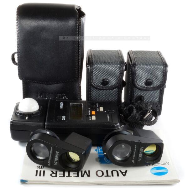 IngéNieux Minolta Auto Meter Iii Avec Viseur 5 ° & 10 ° Bornica Hasselblad Mamiya Leica