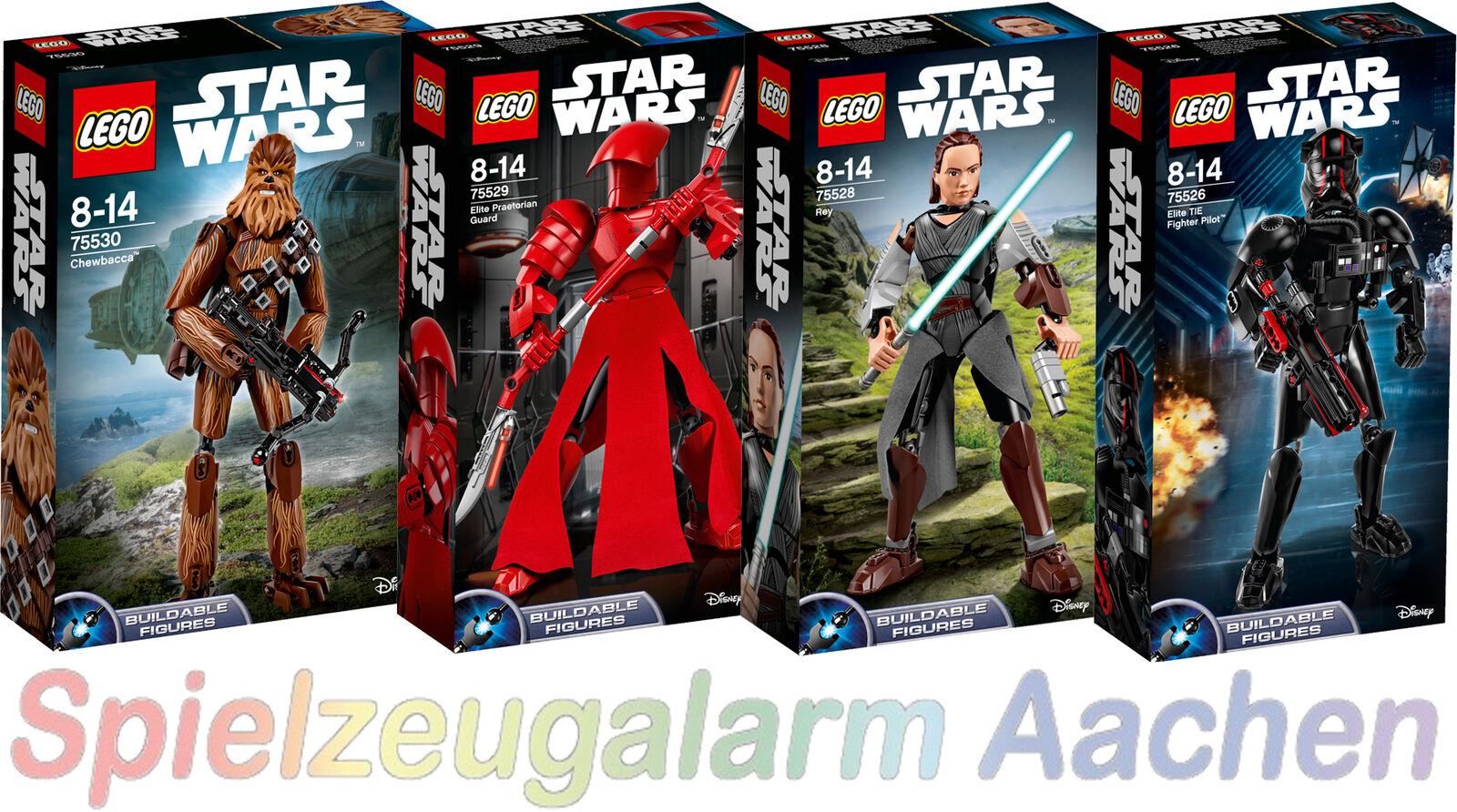 LEGO ® Star Wars Figures 75530+75529+75528+75526