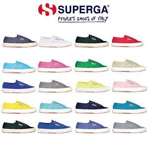 SCARPE-UNISEX-SUPERGA-2750-COTU-CLASSIC-S000010-UOMO-DONNA-RAGAZZO-vari-colori