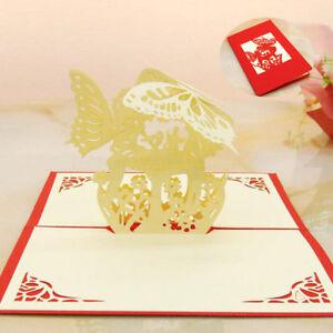 3D-Pop-Up-Card-Birthday-Wedding-Anniversary-Xmas-Greeting-Cards-Invitations-Fine