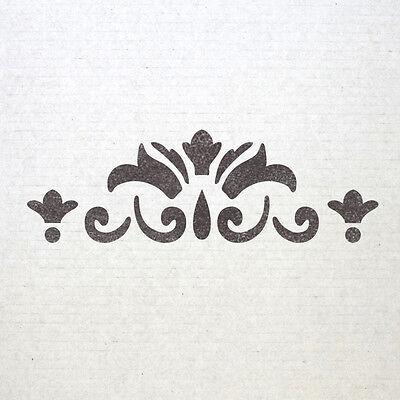 Wall Border stencils Pattern 007 Reusable Template for DIY wall decor