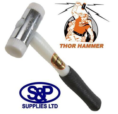 Thor 710 Nylon Face Marteau Double Vitrage Fenêtre Perles Mallet 454 G 1 Lb Thorex environ 0.45 kg