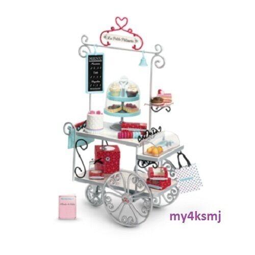 Muñeca American Girl gracia de la pastelería de carro Set + panadería Treats Accesorios Envío rápido