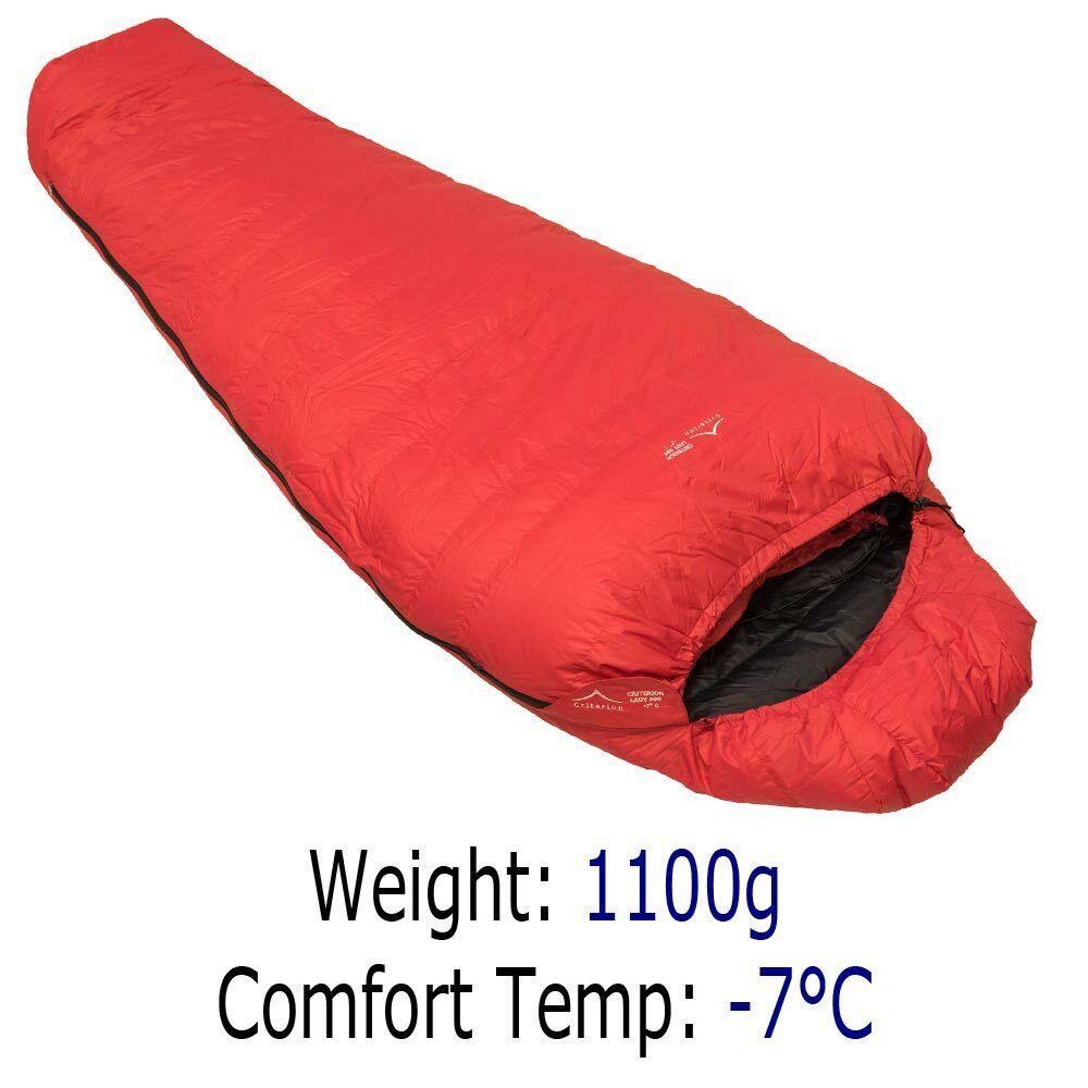 Kriterium Lady 500 -7 im Kombibereich 65533C Gänse nach unten Schlafsack für FrauenOutdoorCamping