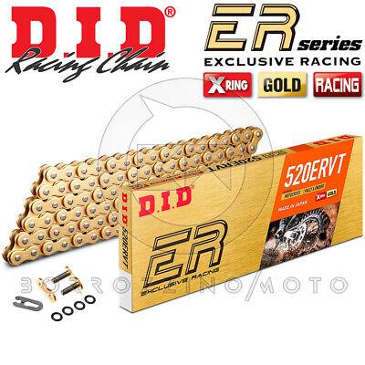 2019 Neuer Stil Kette Übertragung Did 520ervt (ex Vt2) X-ring 120 Gitter Gold Motorrad Cross
