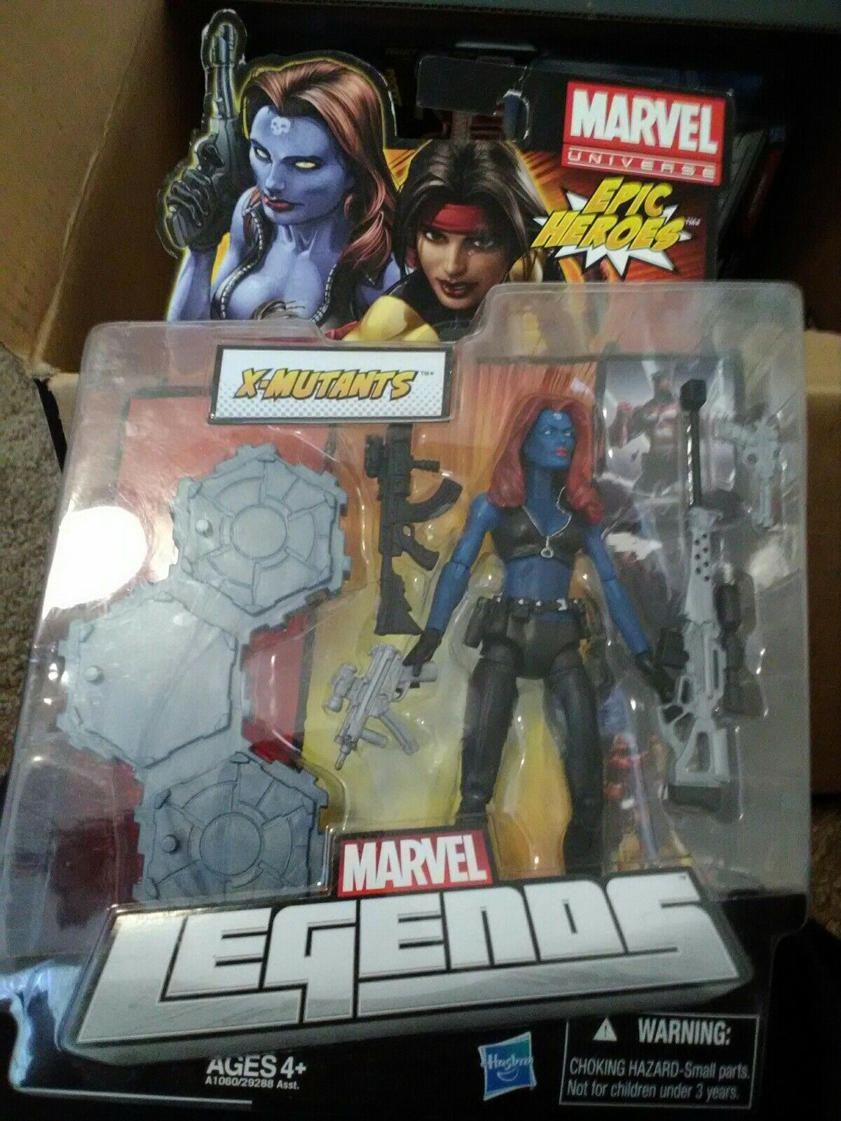 Marvel - legenden epischen helden serie mystique rabe x-mutants