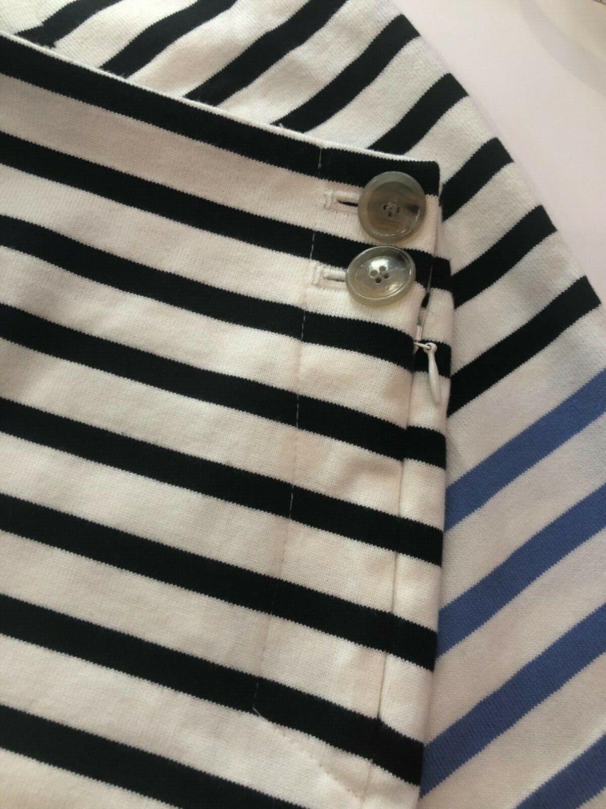Ann Taylor LOFT Tailored Cotton Striped Shorts Wo… - image 3