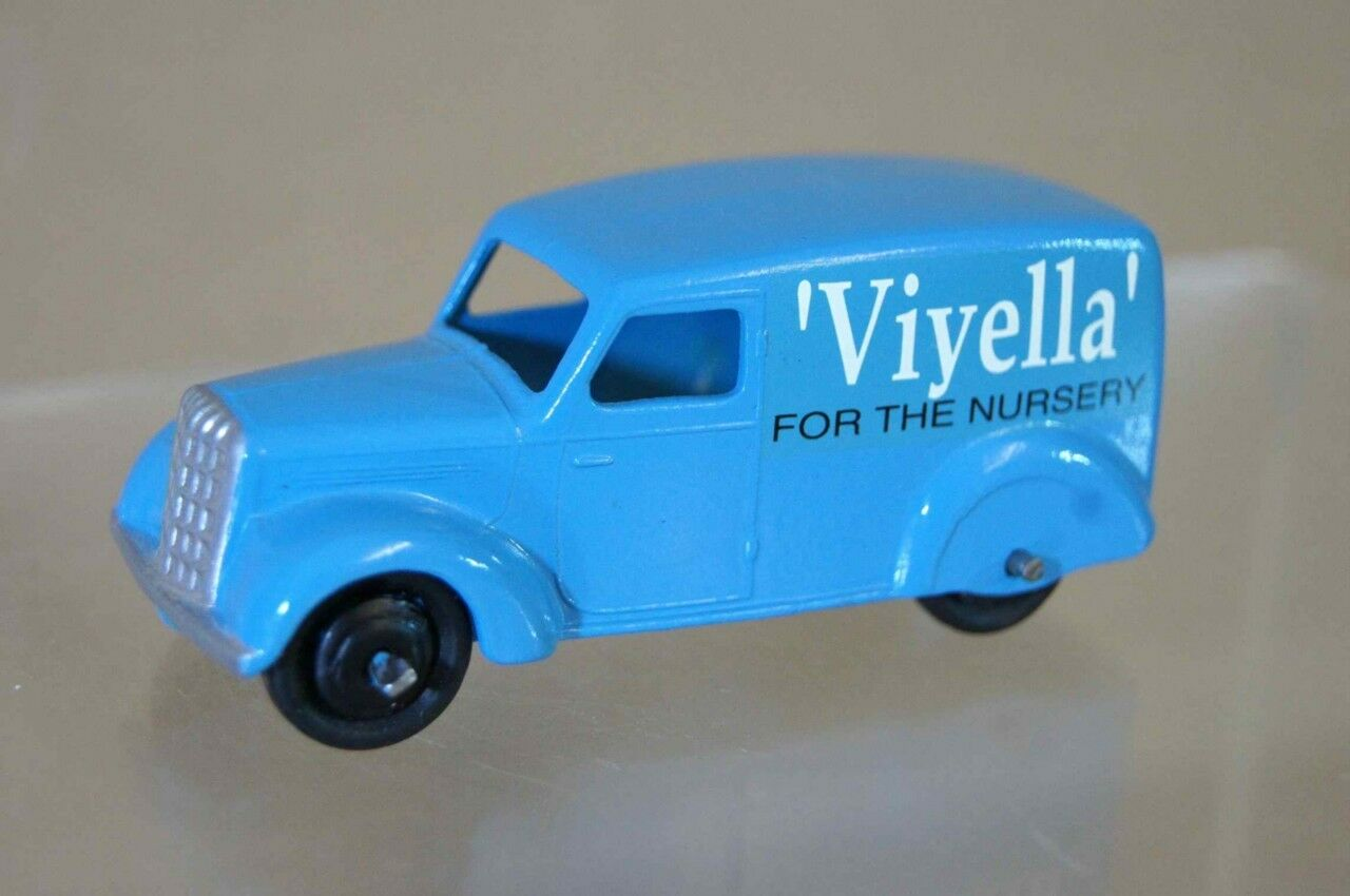 Dinky 280 bis Pre Guerra 280 Serie Camioneta typr 3 Viyella Azul restaurado Mv