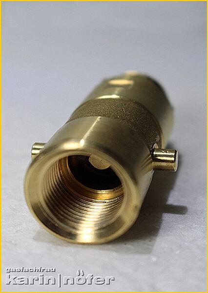 LPG Autogas Filter Adapter Tankadapter Bajonett 21.8 Fülladapter Sinter-Filter