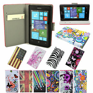 Flip-Floral-Wallet-Phone-Leather-Pocket-Cover-Case-Stand-For-Various-Cell-Phone