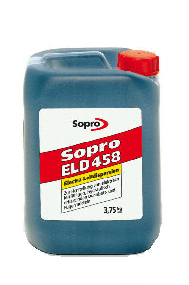 KG Sopro Electra Leitdispersion ELD 458 Bindemittel Mörtel Fugen 3,75kg