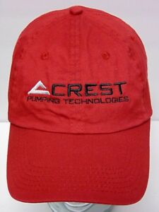 a75944e7a99be Image is loading CREST -PUMPING-TECHNOLOGIES-Gas-Oil-Oilfield-Advertising-RED-