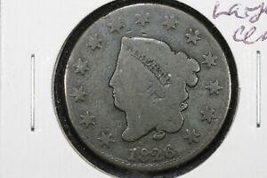 1826/5 Coronet Head Large Cent, Good
