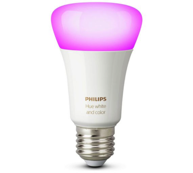 Philips Hue Richer Colours E27 ES White Colour Ambience LED Bulb 3G