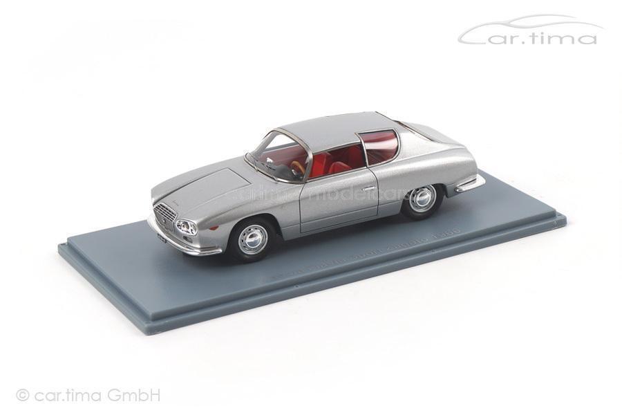 Lancia FLAVIA SPORT ZAGATO-Silver-NEO SCALE MODELS - 1 43