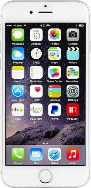 Iphone Model A1586 >> Apple iPhone 6 - 64GB - Silver (Verizon) A1549 (CDMA + GSM) for sale online | eBay