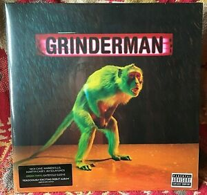 GRINDERMAN-VINYL-LP-NEW-SEALED-Nick-Cave-Ltd-Press-GREEN-VINYL-no-p-y-blues