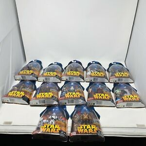 Star-Wars-Revenge-The-Sith-Lot-12-Figures-Clone-Trooper-Wookie-Droid-Chewbacca