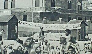 FASCI ITALIANI ALL'ESTERO - COLONIE ESTIVE FIGLI ITALIANI - FASCISMO -anni '30