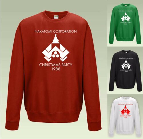 NAKATOMI CHRISTMAS PARTY 1988 Jumper Sweatshirt JH030 Sweater Funny Die Hard