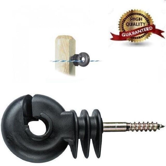 Ring 6 mm core Insulator Electric Fencing Screw in Compact Farm Animals Fence