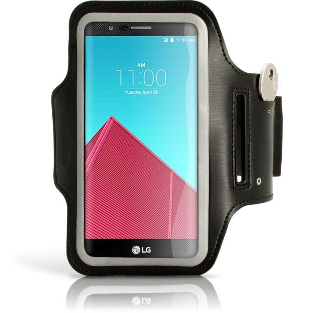 Brazalete de deporte para LG NEXUS 4 E960 funda negro correr running armband