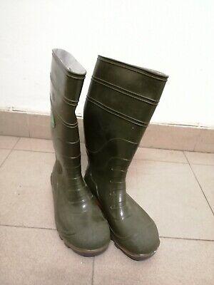 Stivale da Lavoro donna 36 Antiscivolo caccia pesca pioggia green horse | eBay