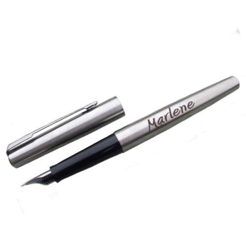 Parker Tinten Füller mit Gravur nach Wunsch