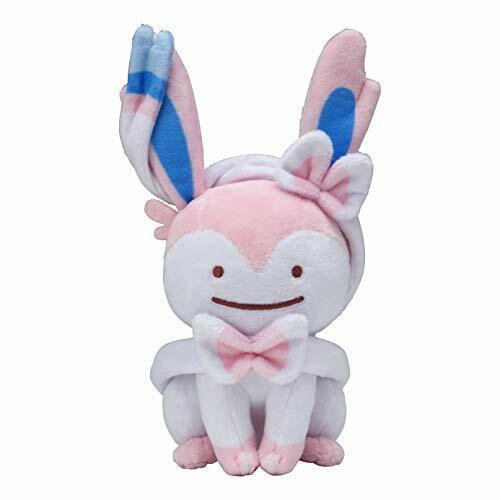 idem SYLVEON 7.4 pollici POKEMON Center Originale Peluche Japan giocattolo Makeover