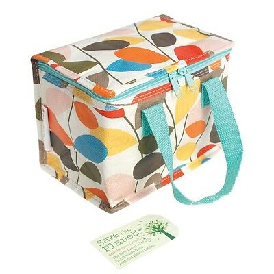 dotcomgiftshop LUNCH BAG VINTAGE IVY. RECYCLED PLASTIC INSULATED COOL WARM BAG
