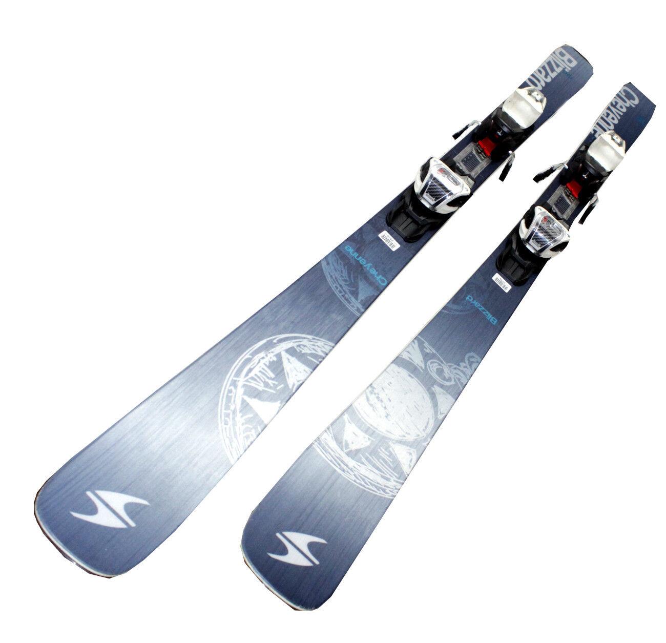 Blizzard Cheyenne Cheyenne Cheyenne Freeride Ski Set Allmountain Damen Testski Skibindung Marker 22d993