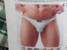 1 Brand New Da Uomo Bianco Puro Slip On Slip, Hi-Gamba, x-Large, sottile fascia in vita