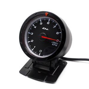 60mm Turbo BOOST Gauge Red//White *kap Skyline WRX EVO MPS Ford BF CR Diesel 4WD*