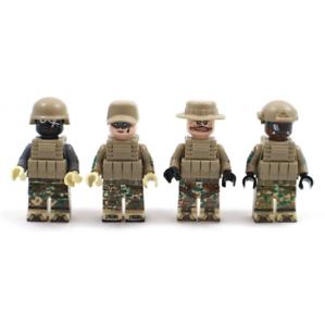 Bausteine-Figur-Spezialeinheiten-Soldat-SWAT-Waffen-Kinder-Spielzeug-Mini-Kind