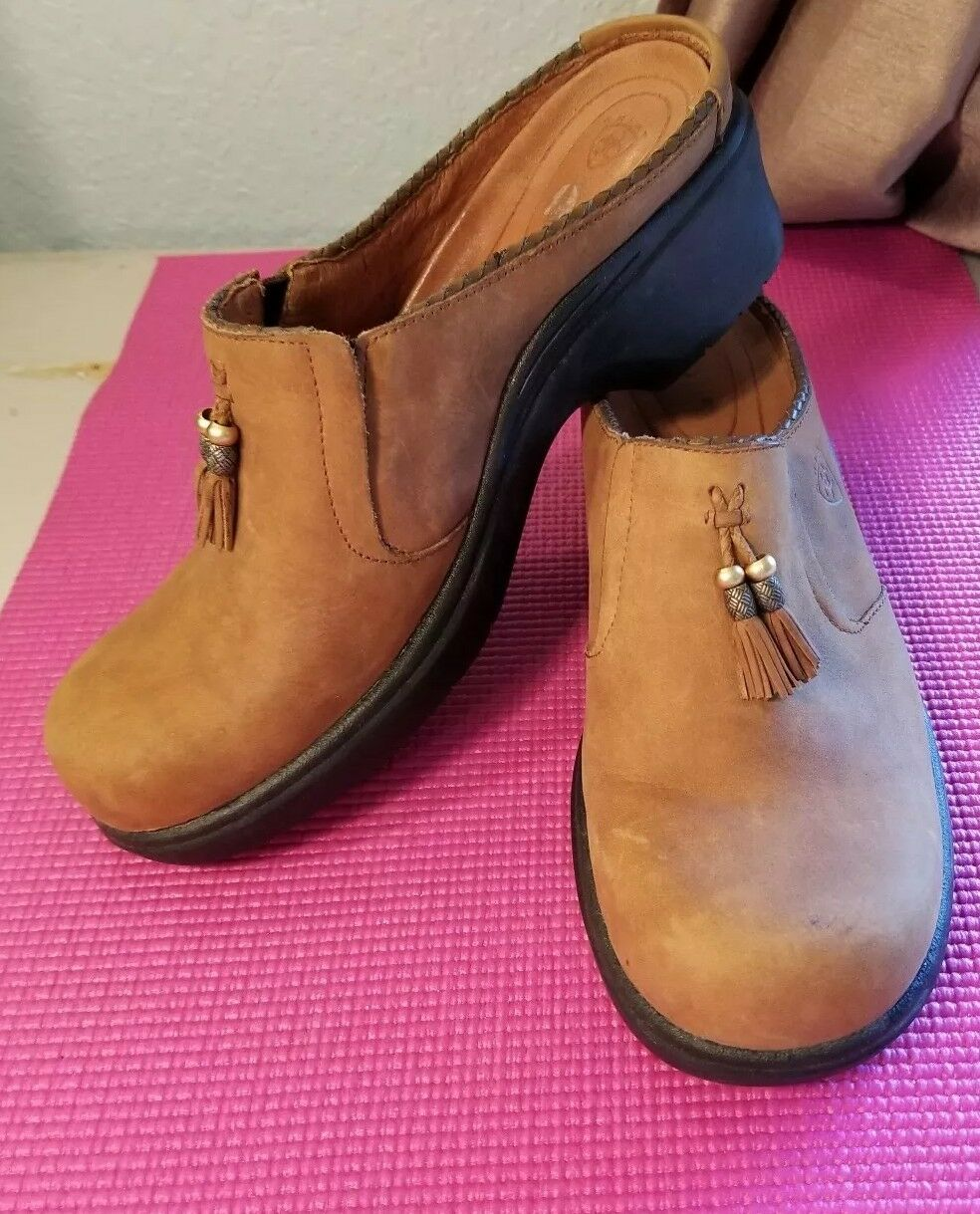 Ariat femmes Mules Clogs Leather Taille 10B
