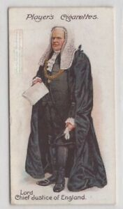 Court-Dress-Of-Lord-Chief-Justice-Of-England-Wales-Wig-100-Y-O-Trade-Ad-Card