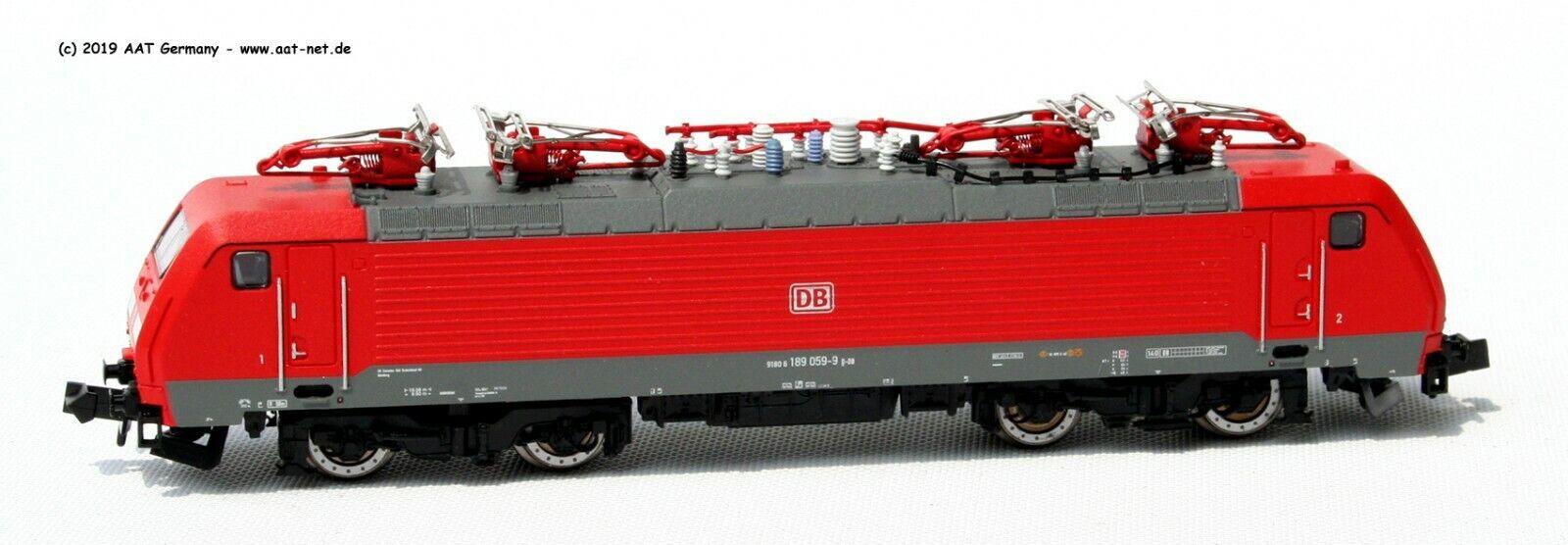 Minitrix N 16893 - E-Lok BR 189 059-9 DB AG  Ep. VI Digital NEU & OVP