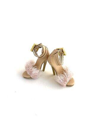 Fashion Royalty Nuface Dominion Lovetones Dolls Shoes Fur Sandal