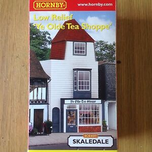 Adaptable Hornby Skaledale Low Relif 'ye Olde Tea Shoppe'. New Boxed