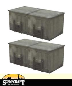 Bachmann 44-538 Domestic Coal Bunkers x4 OO Gauge