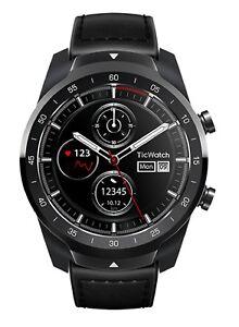 Ticwatch Pro SmartWatch Bluetooth Reloj Inteligente IP68 Google Wear- NEGRO